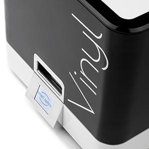 Hier ist der Scanner Vinyl von smart optics in einer Detailansicht zu sehen